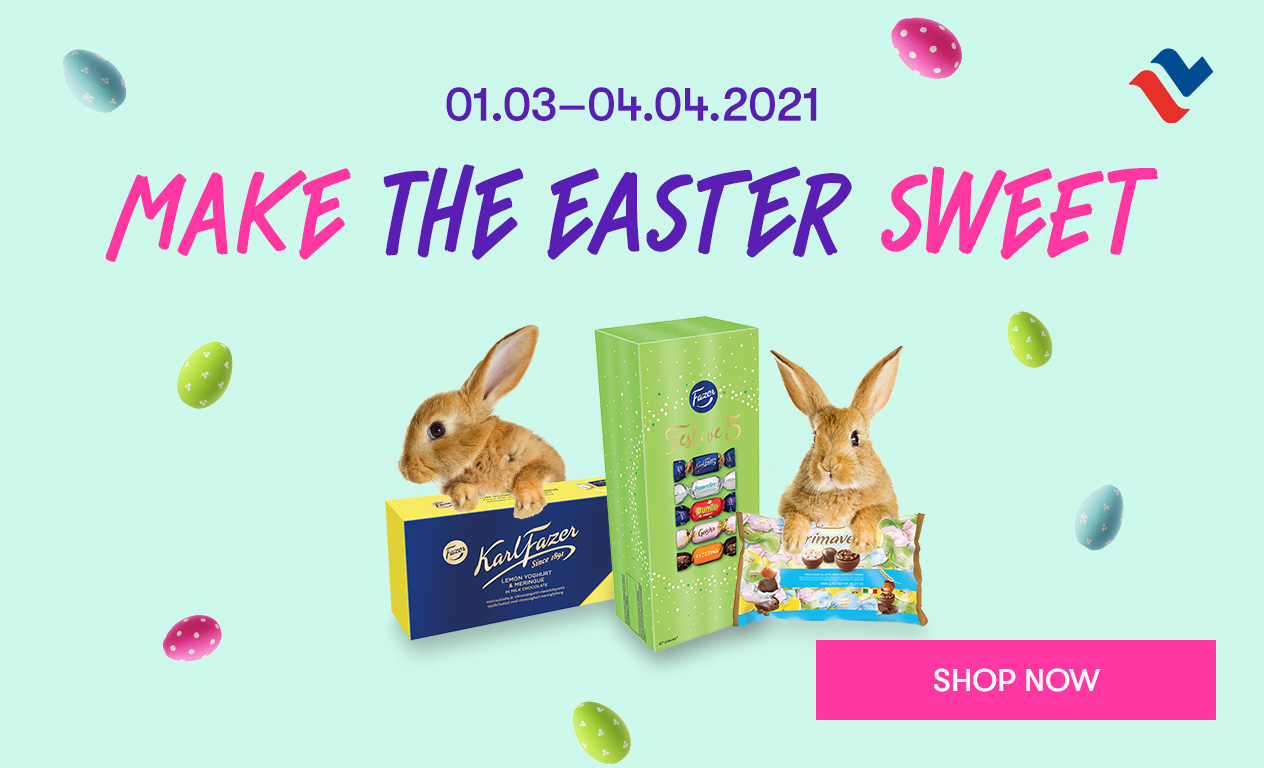 Make the Easter sweet. Order candy from web shop.