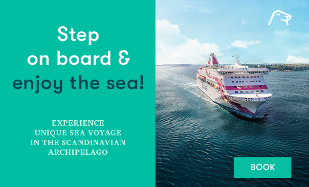 Step on board & enjoy the sea
