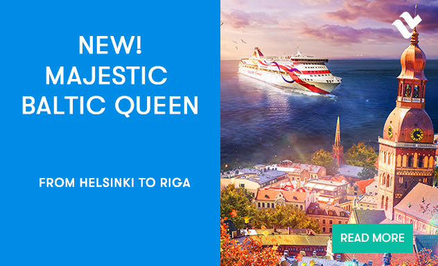 New! Baltic Queen on Helsinki-Riga route