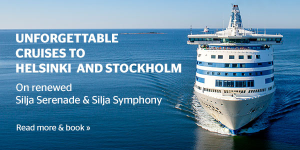 Unforgettable cruises to Helsinki and Stockholm