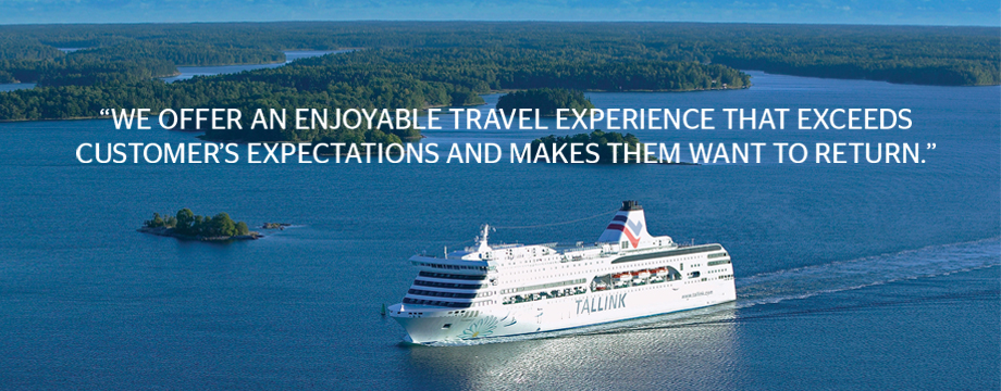 We offer an enjoyable travel experience that exeeds customers expectations and makes them want to return
