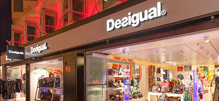 The first Desigual Store on the Baltic Sea