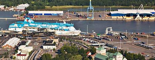 Turku Harbour Silja Line Tallink Silja Line