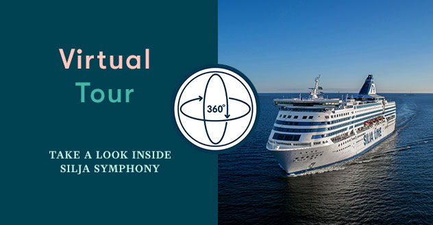 Take a virtual tour on Silja Symphony