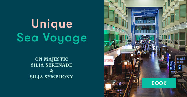 Unique sea voyage on Silja Serenade and Silja Symphony