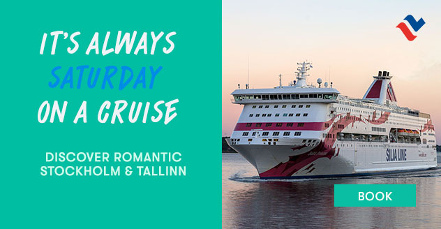 It's always Saturday on a cruise! Discover romantick Stockholm & Tallinn