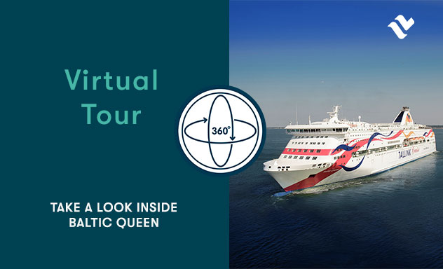 Book high quality cruises to Helsinki, Tallinn, Stockholm