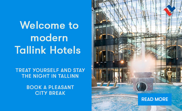 Welcome to modern Tallink Hotels
