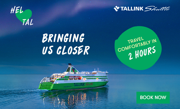 Travel between Helsinki and Tallinn comfortably in 2 hours!